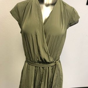Maison Jules Gathered fit and flare Casual Dress
